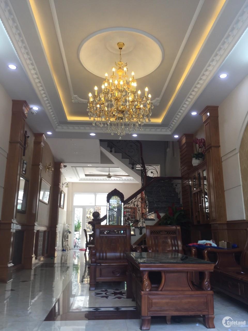 Nhà bán ở khu Cư Xá Tự Do,P.5,Q.Tân Bình, nhà đẹp, 3 lầu vào ở ngay. DT: 4x15m