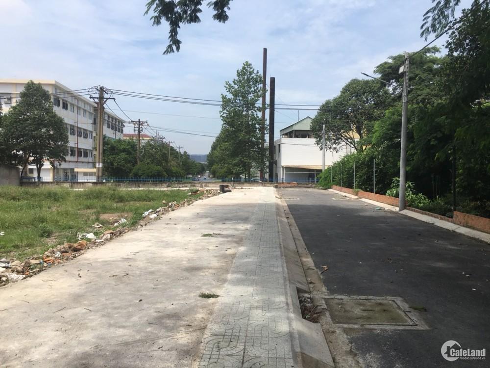 Cần bán đất thổ cư ngay Tỉnh Lộ 43 đối diện chợ Đồng An thuộc phường Bình Chiểu,