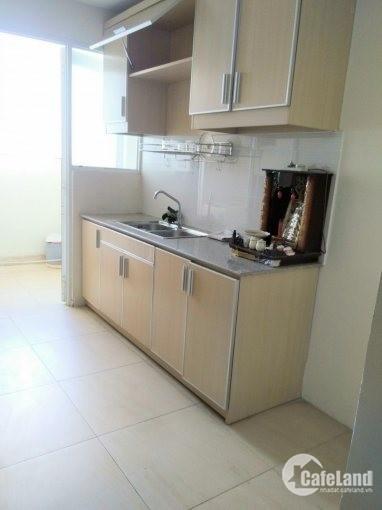 Cần cho thuê gấp căn hộ An Bình Q.Tân Phú Dt : 78 m2, 2PN, Tầng Cao, Căn góc