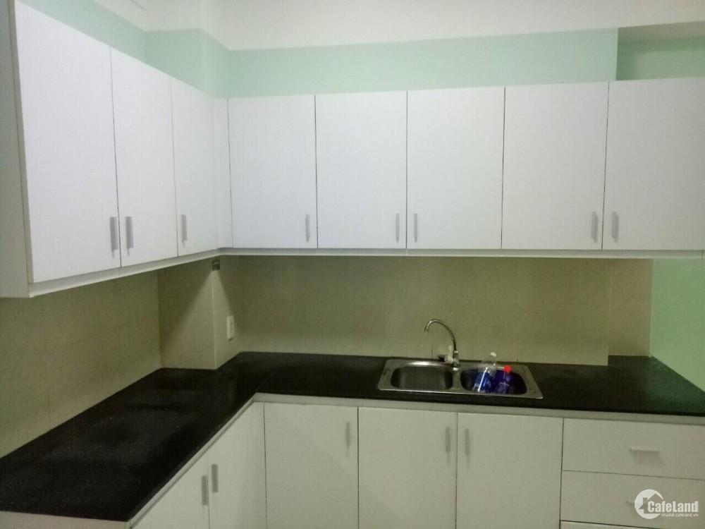Cần cho thuê gấp căn hộ Phú Thạnh Q.Tân Phú, Dt : 50 m2, 1PN, Tầng Cao