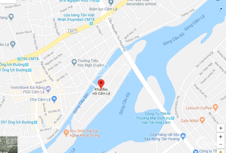 Chính chủ cần bán lô biệt thự Đảo Nổi - đã có sổ - mặt tiền sông - CK khủng