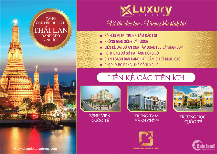Luxury Center - Khu đô thị Đông Hà Center  - dự án đất nền giá rẻ TT TP Đông Hà