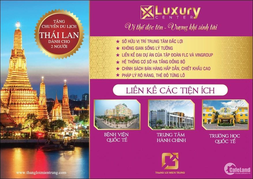 ️ Luxury Đông Hà Center sở hữu vị trí độc tôn khi tọa lạc tại Trung tâm thành p