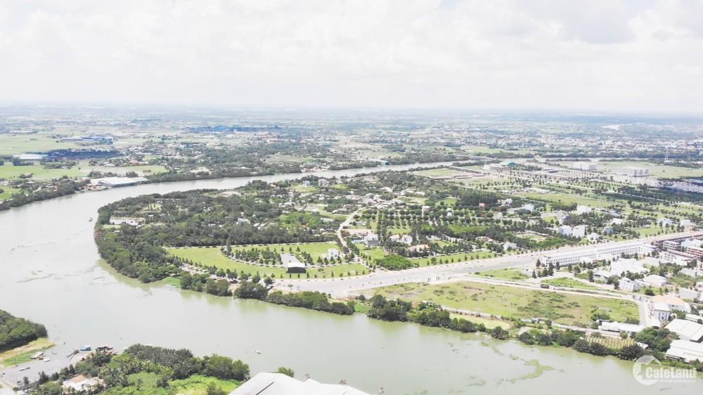 Đất ven sông tp.Tân An Long An khu hành chính mới. chính chủ