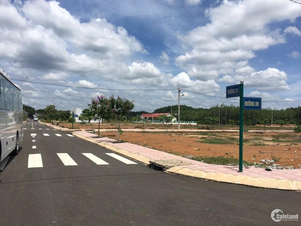 Bán đất tp Bình Phước, có sổ đỏ riêng, cam kết ra hàng chỉ thanh toán 280tr