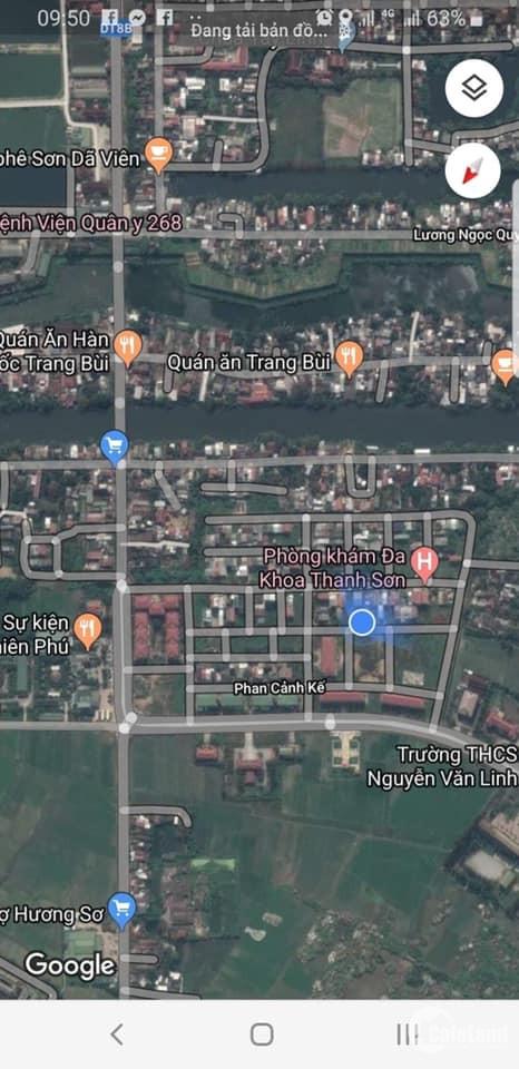 Mặt Tiền đường Nguyễn Đóa-Hương Sơ