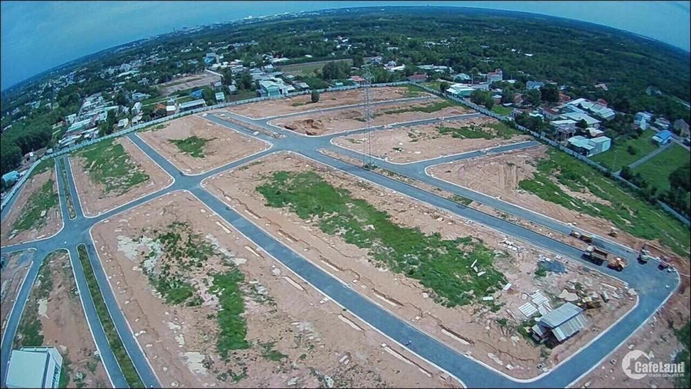 Bán đất thổ cư 100% sổ riêng ngay TT Long Thành, LK mặt tiền QL 51B. Gía 14tr/m2
