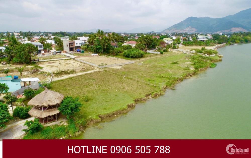 Đất nền Vĩnh Ngọc , Nha Trang, view sông dự án RIVER GARDEN , F1 - 15tr/m2, 0906