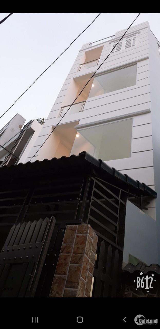 Chính Chủ Bán nhà 3 lầu mới xây Trung Tâm TP Tân An,Có sổ hồng