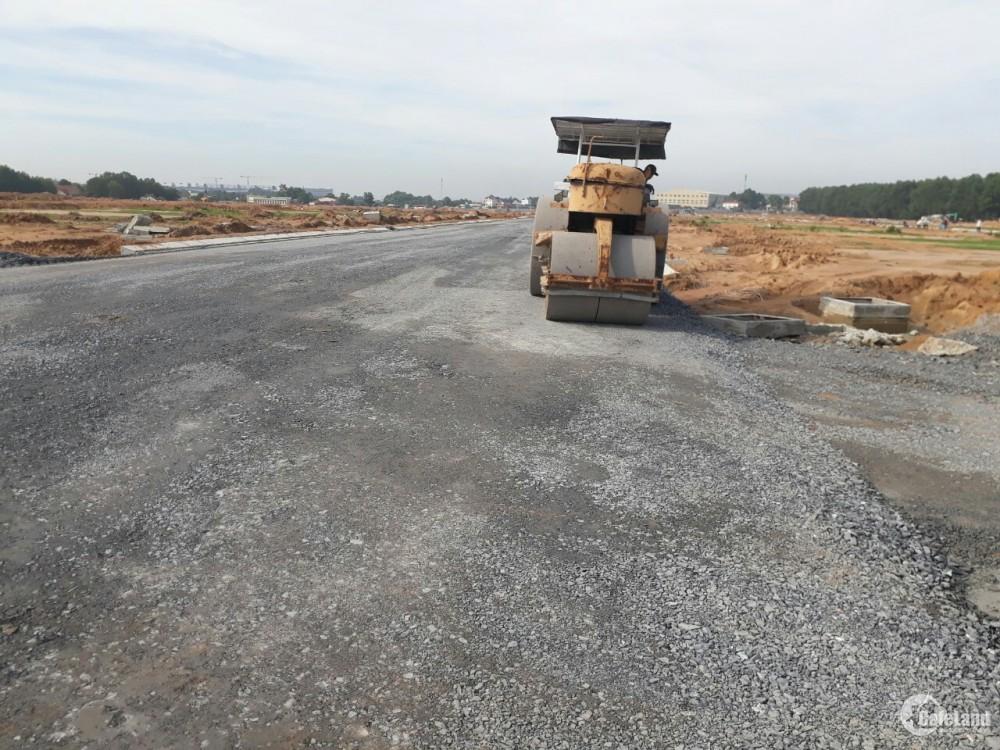 Mua bán đất KDC City Land Bình Dương, Giá 14tr/m2, trả chậm 4 đợt 0% lãi suất