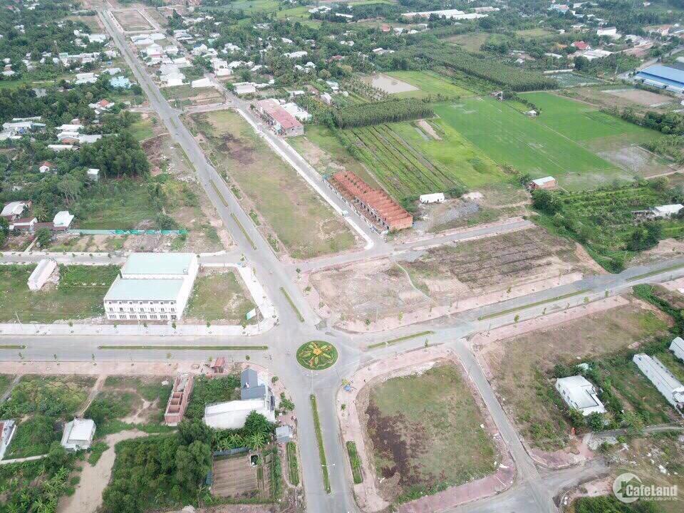 Bán gấp đất nền  khu dân cư thành phố Vĩnh Long chỉ 8.5tr/m2, tặng 3 chỉ vàng