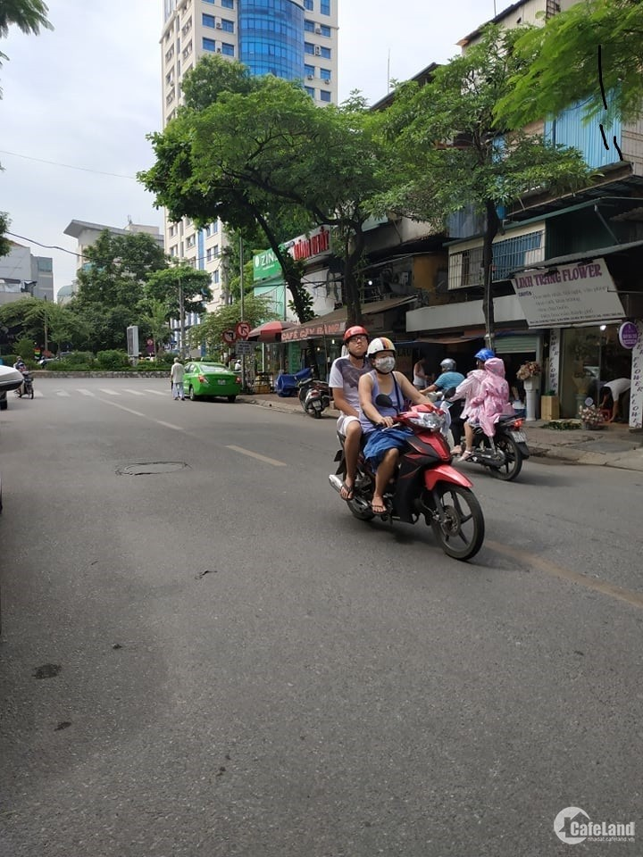 Cho thuê nhà siêu phẩm mặt phố Thái Hà 45m2, 6m mặt tiền