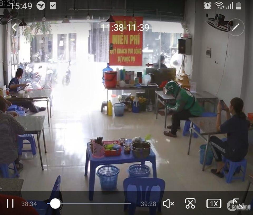 cho thuê nhà mặt phố Trần Khát Chân, 70m x4 tầng, 60tr/th