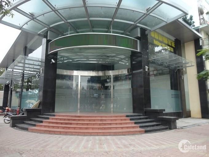 Cho thuê sàn trung tâm thương mại 900m2 mặt phố Đại Cồ Việt ưu tiên làm PGD Bank