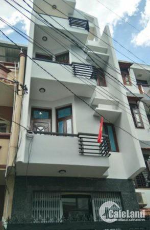 Cần cho thuê gấp nhà mặt tiền đường Lê Quý Đôn, TT Q. 3, DT: 18x20m, trệt, 3 lầu