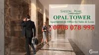 Bán căn hộ Opal Tower-Saigon Pearl 1PN chỉ 3,3 tỷ - Hotline PKD 0908 078 995