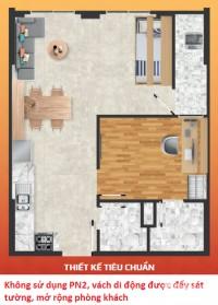 Cần bán căn hộ tầng 3A dự án Saigon Intela liền kề quận 7, Bình Chánh.