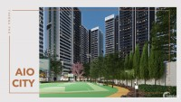 CHCC Aio City Tên Lửa, cạnh Aeon Mall Bình Tân, giá từ 37 triệu/m2, dt 52-88m2