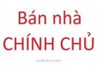 Bán gấp nhà chính chủ có sổ đỏ tại số 1 ngõ 135 Thánh Thiên- TP. Bắc Giang