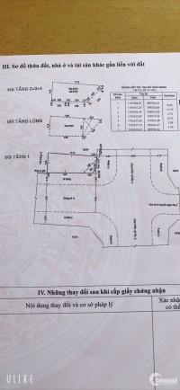 Bán nhà Góc 2MTKD  Nguyễn Ngọc Nhựt  Q,Tân Phú  DT  4,75x11   1 lửng  2 lầu  st