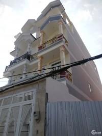 Nhà Lê Văn Qưới (4x16m)hẻm 8m thông bán giá rẻ.