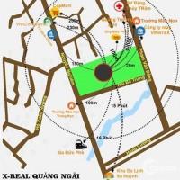 Mặt tiền Phạm Văn Đồng, Trung tâm Đức Phổ, Quảng Ngãi giá chỉ từ 7,5tr/m2