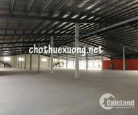 Cho thuê nhà xưởng Khu công nghiệp Tiên Sơn Tiên Du Bắc Ninh DT 14.100m2
