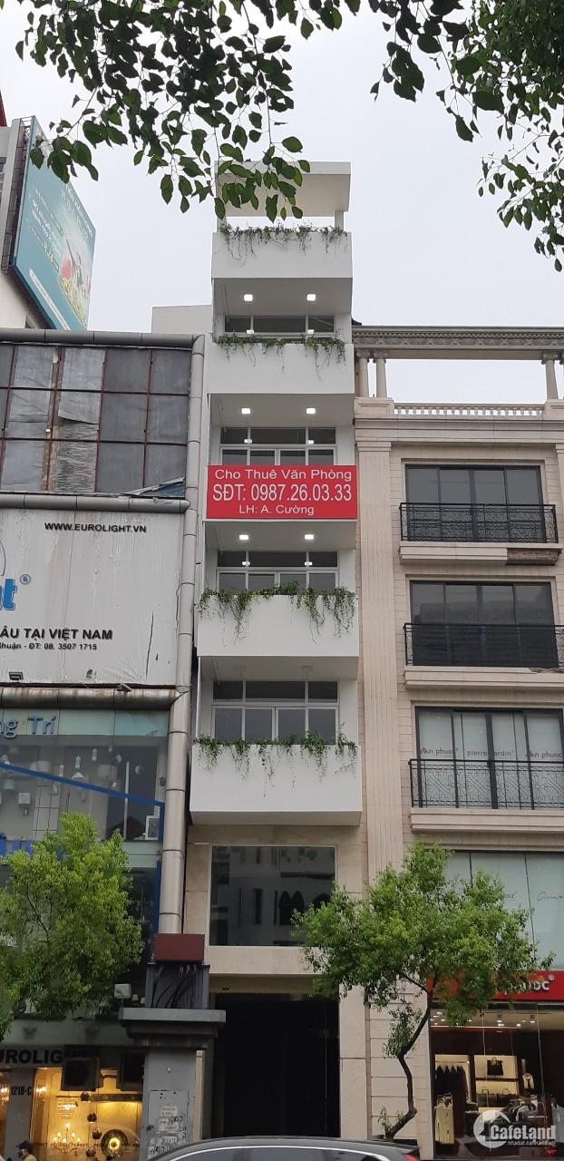 Cần cho thuê văn phòng giá cực sốc mặt tiền đường quận Phú Nhuận