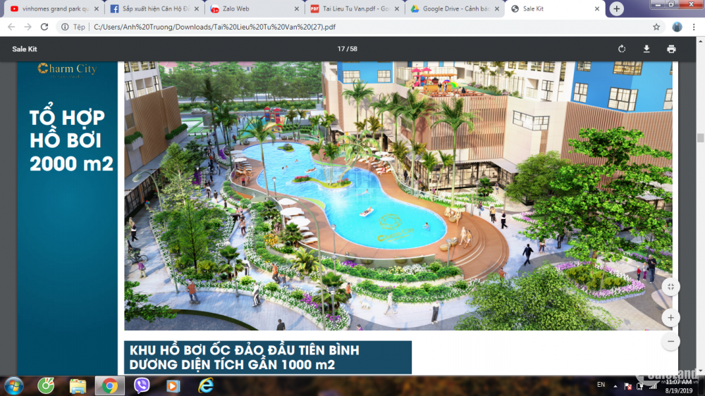 Căn Hộ Resort 5 Sao ngay TTTM Vincom Plaza