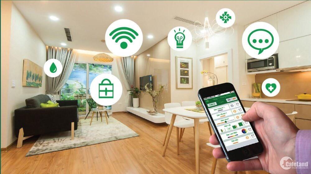 Sở hữu căn hộ thông minh- smart home đầu tiên tại Long Biên chỉ từ 2,1 tỷ