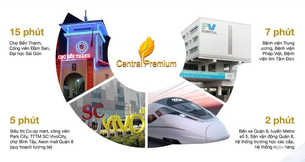 Central premium mở bán 50 căn cuối cùng, bàn giao nha cuối năm 2019
