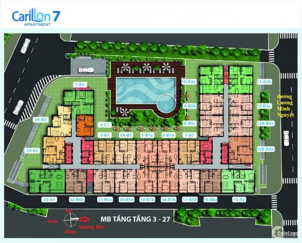 Rổ hàng Chính chủ cần bán các căn hộ tại dự án Carillon 7, Tân Phú