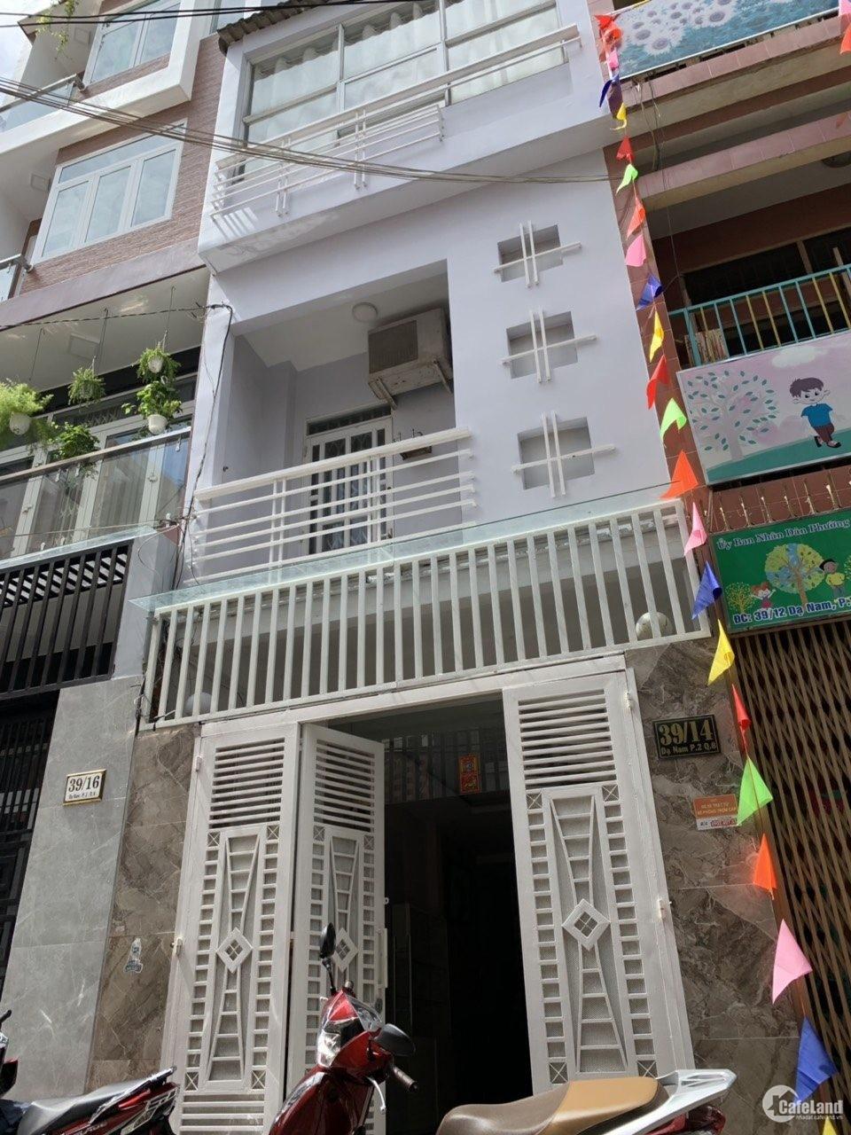 Cần bán gấp nhà mặt tiền trà khúc Tân Bình, P.2 4.5x 30 2 lầu