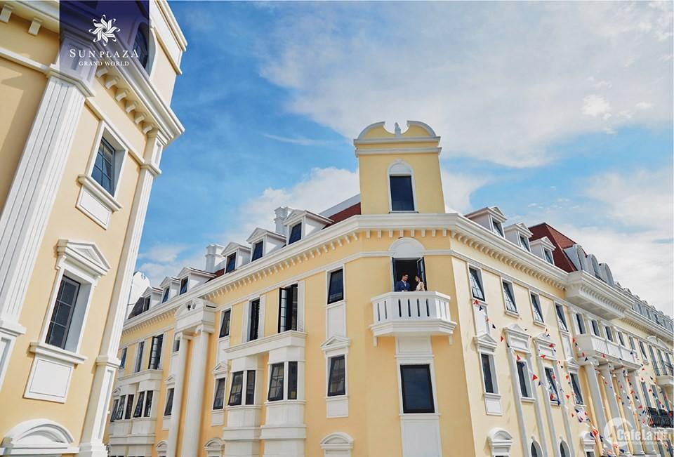 Bán Shophouse mặt đường Hạ Long rộng 40m,trục chính sầm uất nhất.120m2x5 Tầng