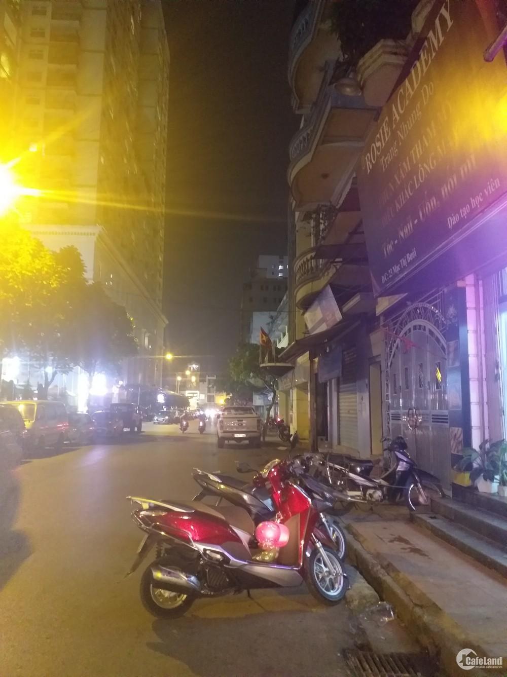 Đất mặt phố Mạc Thị Bưởi, lô góc 50m2, mt 4m, giá 11 tỷ.