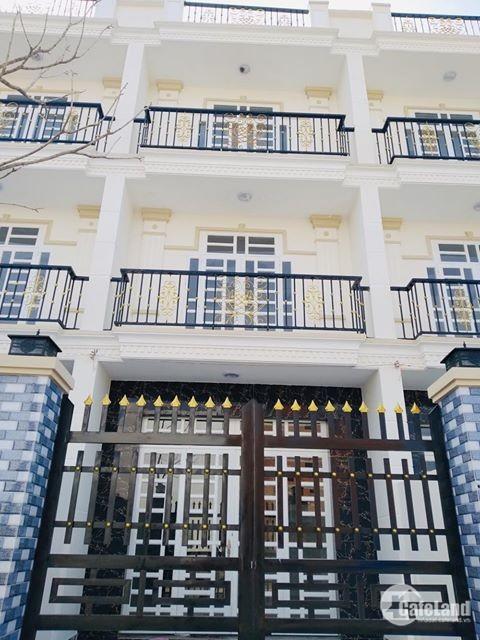 Cần tiền bán gấp nhà 1 trệt 2 lầu mặt tiền Huỳnh Hữu Trí, 1 tỷ 2