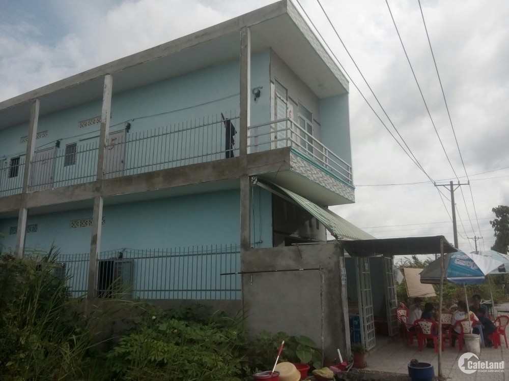 Cần bán nhà trọ gần Chợ Củ Chi, Nguyễn Thị Sóc 140m2 giá 700tr sổ hồng riêng
