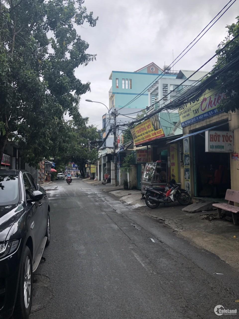 bán khách sạn 6 tầng mặt tiền đường tân lập,hiệp phú,quận 9,dt 79 m2.