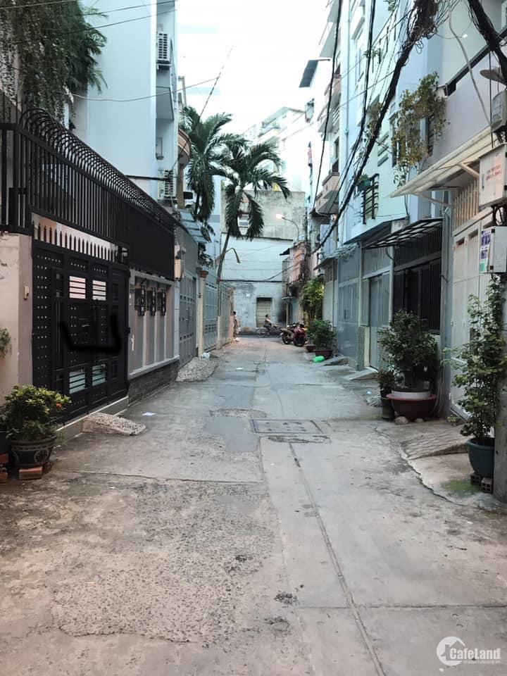 Nhà hẻm xe hơi Nguyễn Đình Chiểu, Phú Nhuận, 36m2,  3 tầng 4.6 tỷ