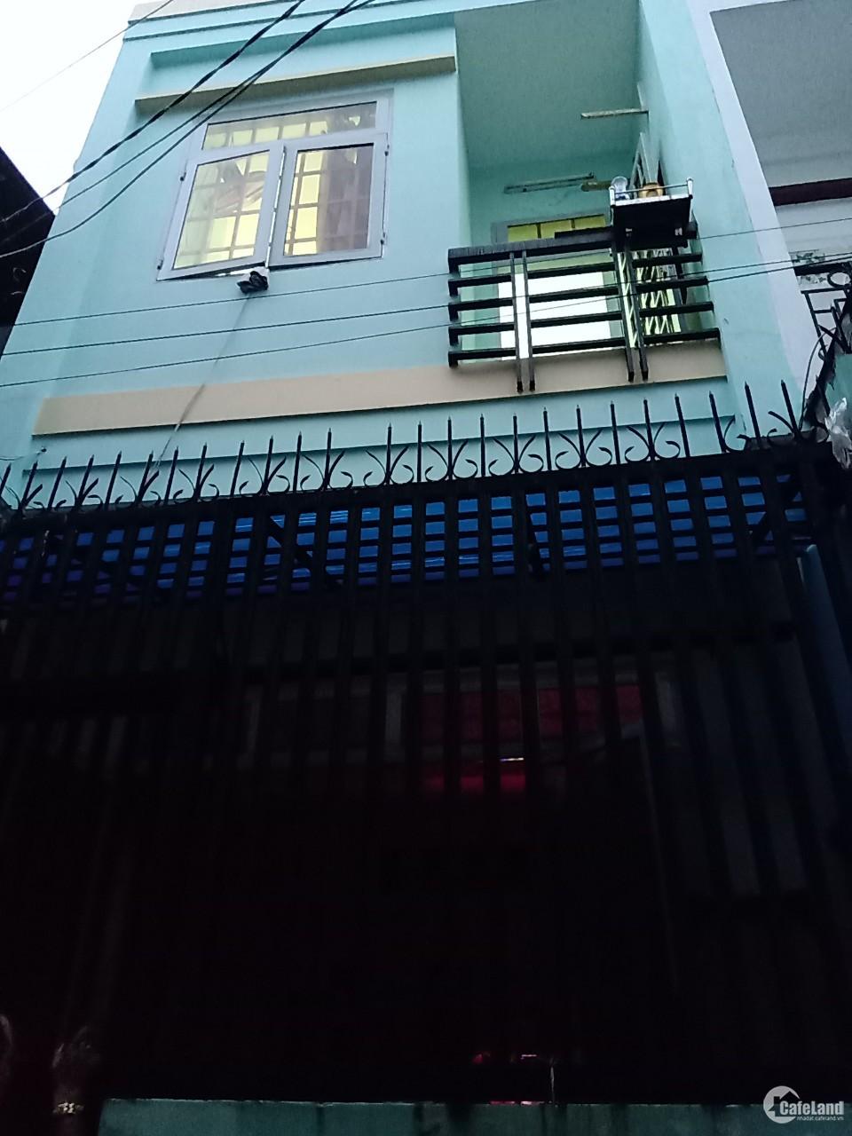 Nhà hẻm / Nguyễn Sơn, Tân Phú 3.7x11m, nhà 1 lầu. Giá 3.3 tỷ TL