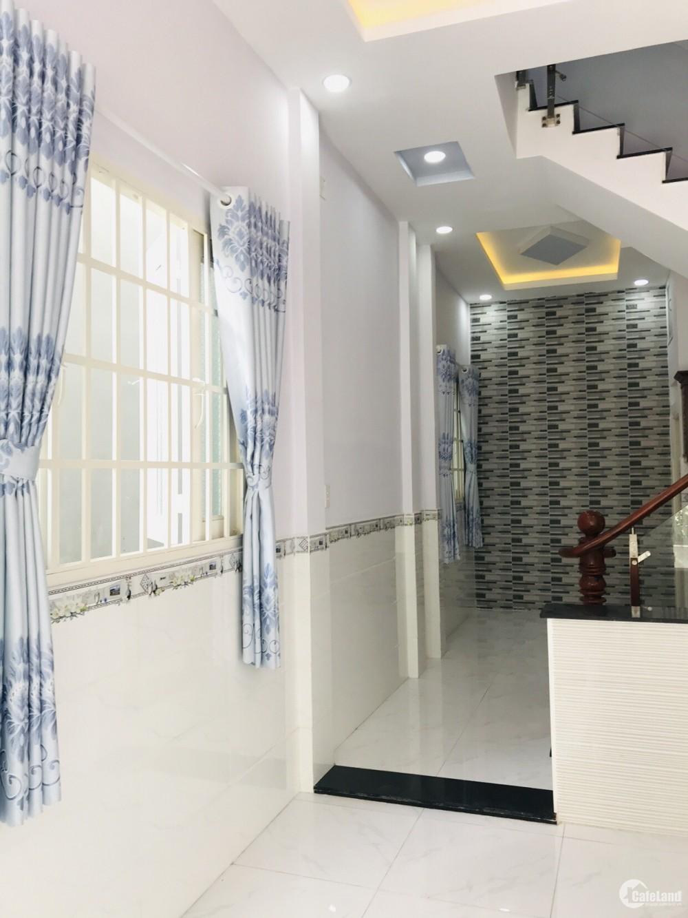 Bán nhà hẻm đường Đoàn Giỏi, P. Sơn Kỳ,1 lầu, mới, đẹp. 4.2m x 10, 3.8 tỷ