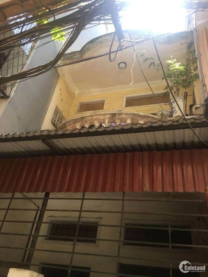 Bán nhà Ba Đình, ngõ 65 Phúc Xá 1.25 tỷ, 18mx3T, SĐCC