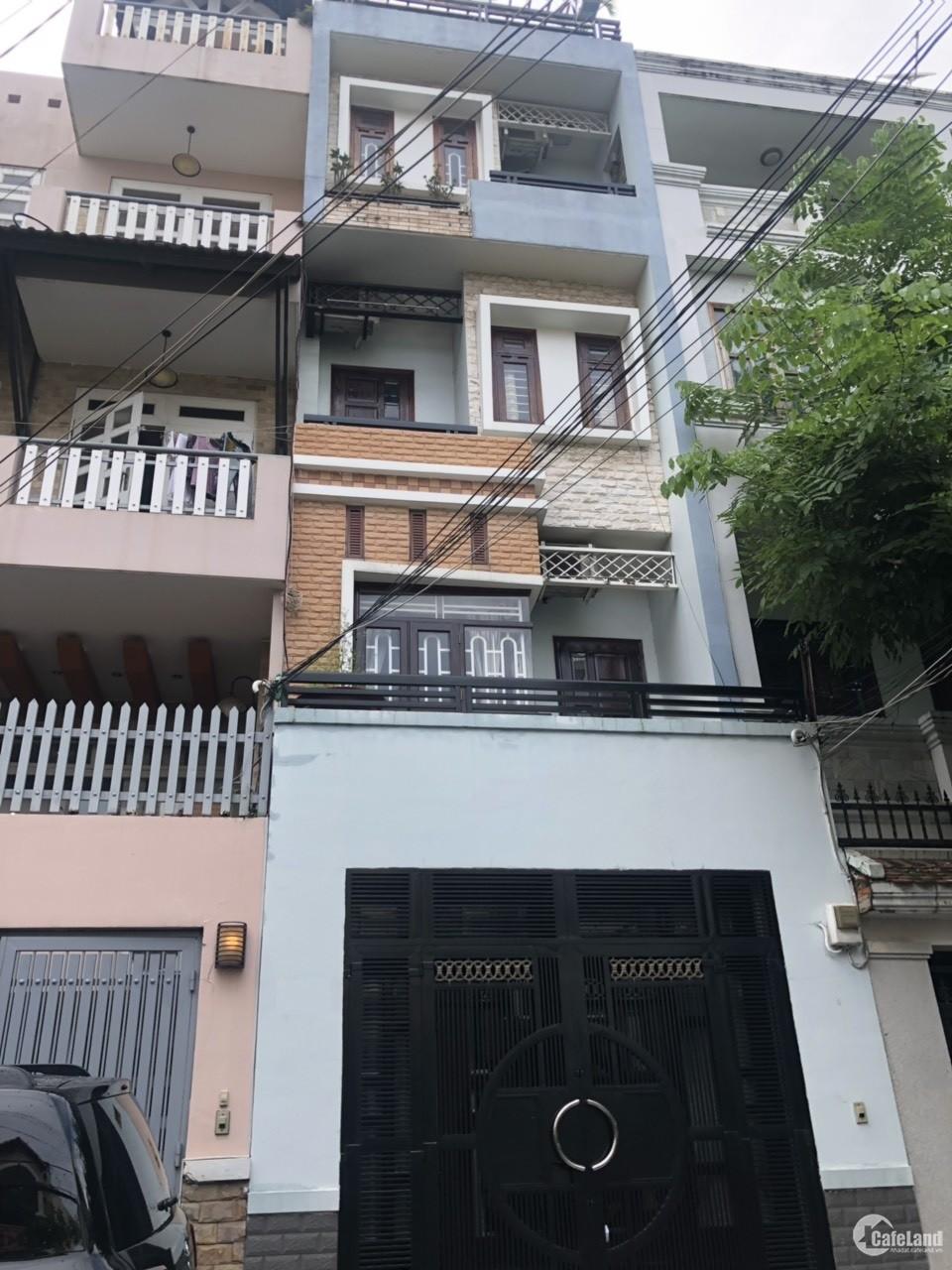 Bán nhà HXH khu VIP đường D5 ,P25, Q.Bình Thạnh 4x18 ,4 tầng siêu đẹp giá 14 tỷ