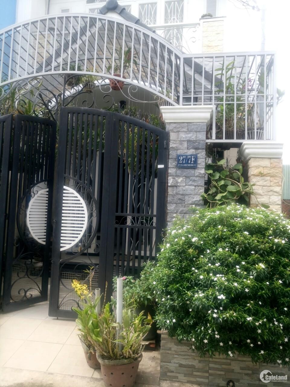 Cần bán nhà tại Xuân Thới Đông, Hóc Môn, SHR, giá tốt