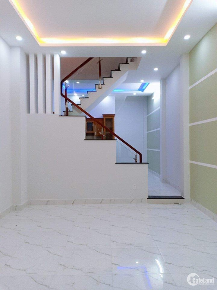 Nhà mới xây sổ hồng riêng,CẦN BÁN diện tích 52m2,quận 12
