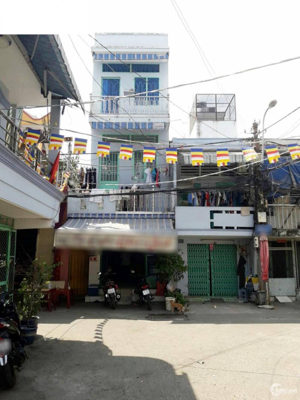 Bán nhà Mặt Tiền, Phạm Văn Chị Q6 – 63m2 - giá SHOCK 3.4 tỷ.