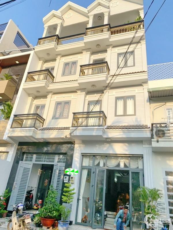 Bán nhà mới,đẹp 3 lầu Đường 12 nối dài phường Tân Quy Quận 7