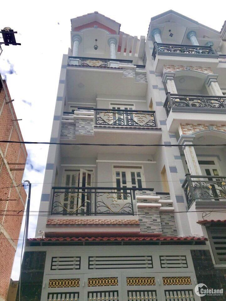 Bán nhà 3 lầu 4 PN sân thượng trước sau , nơi an cư lý tưởng nhất cho mọi gia đì