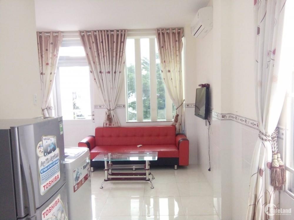 Cho thuê căn hộ tiện nghi,an ninh, thoáng mát, khu trung tâm, giá rẻ