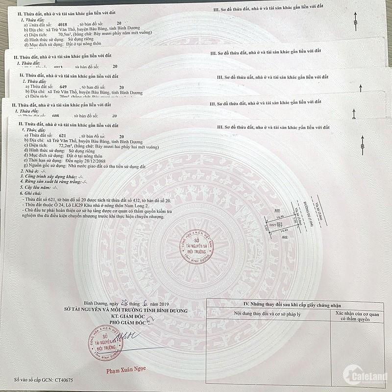 Phúc An Garden - Đất nền sổ đỏ HOT nhất Bàu Bàng, 10 suất nội bộ giá F0 từ CĐT.
